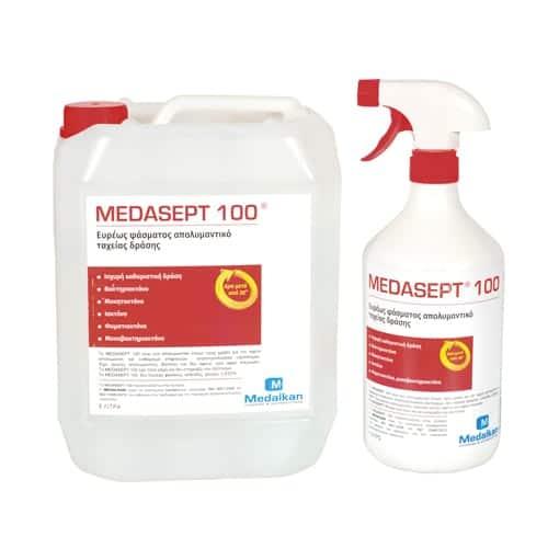 Ευρέως φάσματος απολυμαντικό επιφανειών – MEDASEPT 100